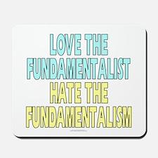 Love the fundamentalist... (mousepad)
