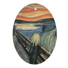 "Munch's ""The Scream"" Ornament (Oval)"