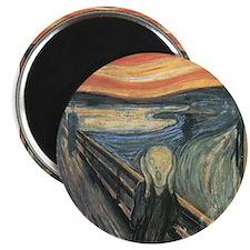 "Munch's ""The Scream"" Magnet"