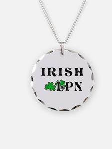 Irish Nurse LPN Necklace