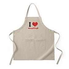 I Love Heart Back Funny Apron Gift