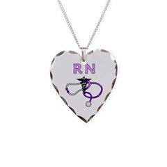 RN Nurse Medical Necklace