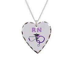 RN Nurse Medical Necklace