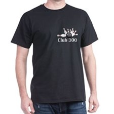 Club 300 Logo 6 T-Shirt Design Front Pocket a