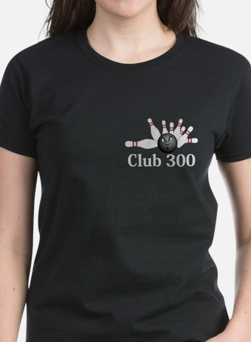 Club 300 Logo 6 Tee Design Front