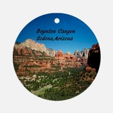 Boynton Canyon Ornament (Round)