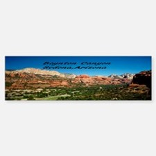 Boynton Canyon Bumper Bumper Sticker