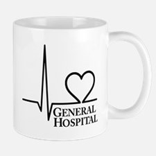I Love General Hospital Small Small Mug