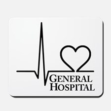 I Love General Hospital Mousepad