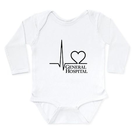 I Love General Hospital Long Sleeve Infant Bodysui