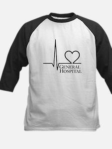 I Love General Hospital Kids Baseball Jersey
