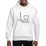 I Love General Hospital Hooded Sweatshirt