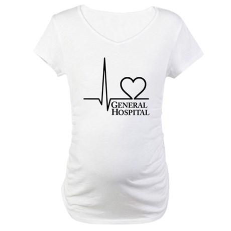 I Love General Hospital Maternity T-Shirt