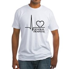 I Love General Hospital Fitted T-Shirt