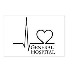 I Love General Hospital Postcards (Package of 8)
