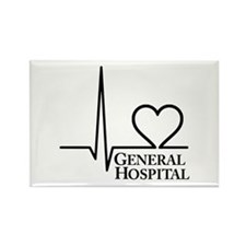 I Love General Hospital Rectangle Magnet (10 pack)