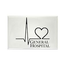 I Love General Hospital Rectangle Magnet