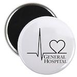 """I Love General Hospital 2.25"""" Magnet (100 pack)"""