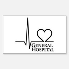 I Love General Hospital Decal