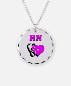 RN Nurses Care Necklace