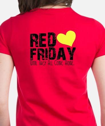 Red Friday..Till They All Come Home Tee