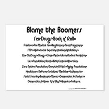 Blame the Boomers Postcards (Package of 8)