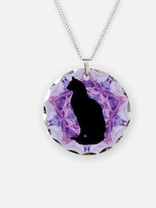 Kaleidoscope Cat Necklace