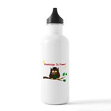 Wise Owl Water Bottle