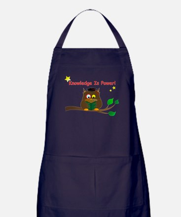 Wise Owl Apron (dark)