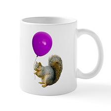 Squirrel Balloon Small Mugs