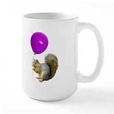 Squirrel Balloon Coffee Mug