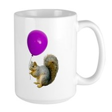 Squirrel Balloon Mug