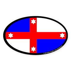Lochac Populace Sticker (Oval 10 pk)
