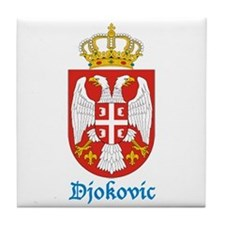 Unique Novak djokovic Tile Coaster