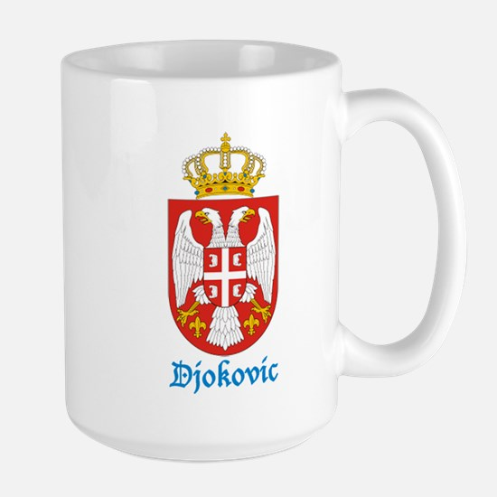 djokovic-crest Mugs