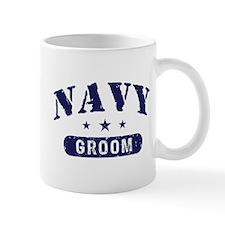 Navy Groom Mug