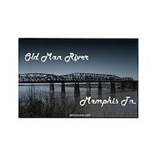Old Man River Magnet