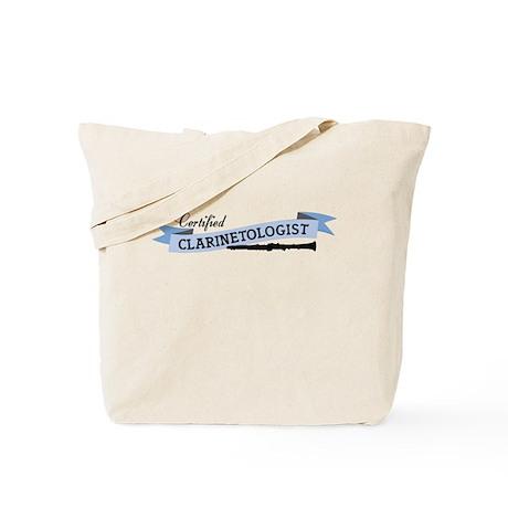 Clarinetologist Tote Bag