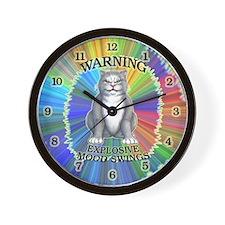 Explosive Mood Wall Clock
