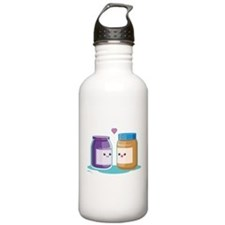 Peanut Butter and Jelly Sports Water Bottle