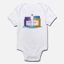 Peanut Butter and Jelly Infant Bodysuit