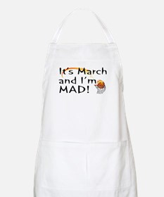 Mad About March  BBQ Apron