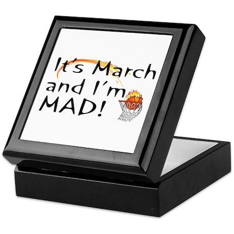 Mad About March Keepsake Box