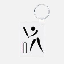 Cricket Black Keychains