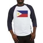 Philippine Flag Baseball Jersey