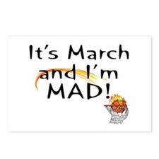 Mad about March   Postcards (Package of 8)