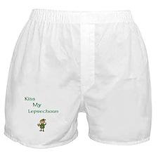Cute Irish leprechaun Boxer Shorts