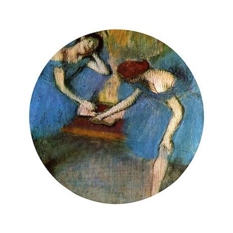 """Edgar Degas 3.5"""" Button"""