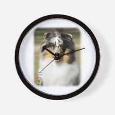 Shetland Sheepdog 9J089D-10 Wall Clock
