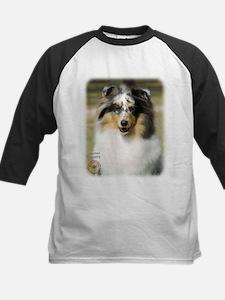 Shetland Sheepdog 9J089D-10 Kids Baseball Jersey